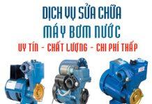 dịch vụ sửa chữa máy bơm nước