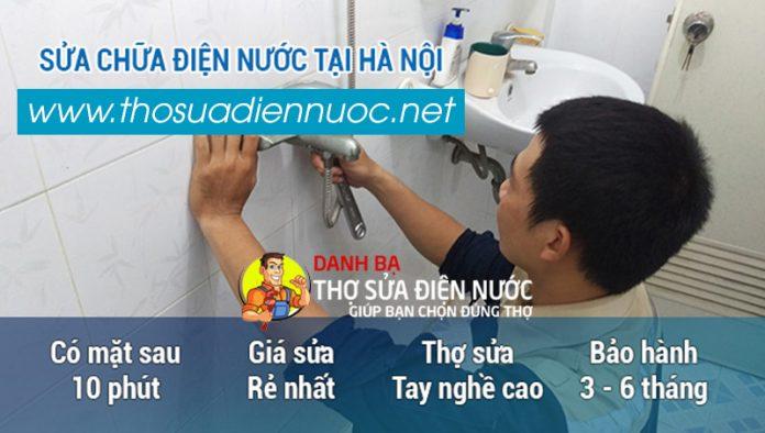 Thợ sửa chữa điện nước tại Hà Nội